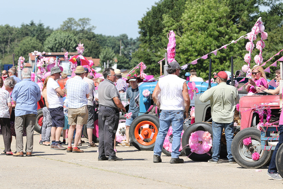 15th annual Pinks Ladies Tractor Run