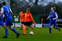Football action from Diss Town FC v Cornard -