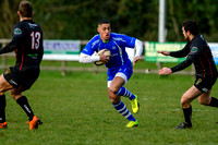 Rugby action from Diss v Rochford Hundred
