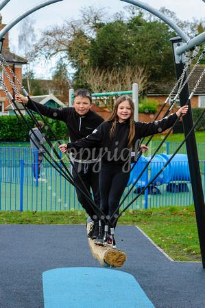 Diss Play Park which has newly refurbished