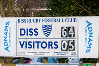 Rugby - Diss v Cantabrigian in London League Two North East.