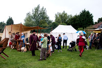 Medieval weekend at Bressingham Church.